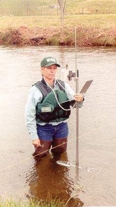 Measuring Streamflow in Virginia