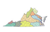 Map of Virginia Watersheds...